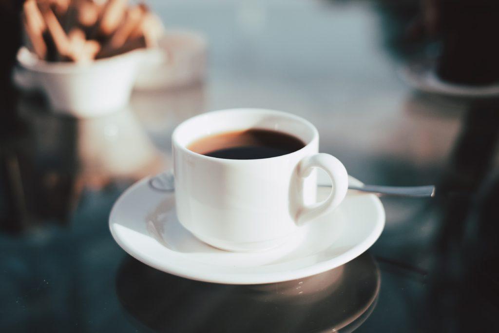 コーヒーの出来上がり